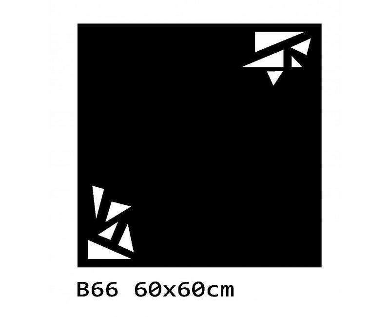B66 60x60 cm Bieżnik obrus z filcu na stół
