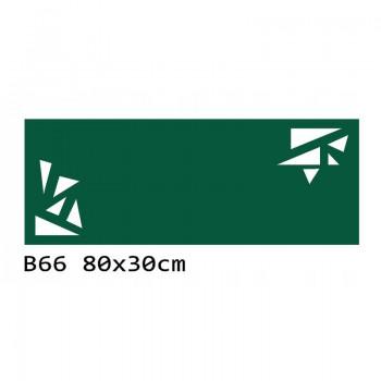B66 80x30 cm Bieżnik obrus z filcu na stół