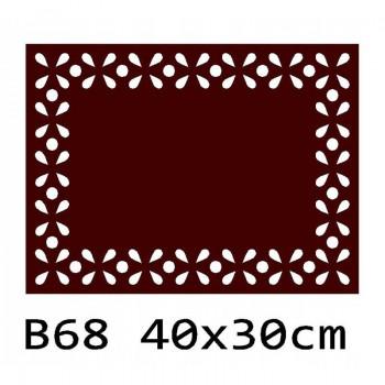 B68 40x30 cm Bieżnik obrus z filcu na stół
