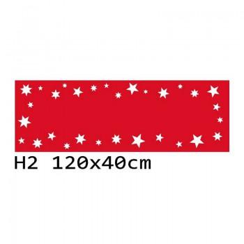 H2 120x40 cm Bieżnik obrus świąteczny z filcu na stół