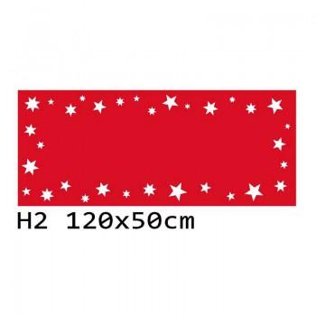 H2 120x50 cm Bieżnik obrus świąteczny z filcu na stół